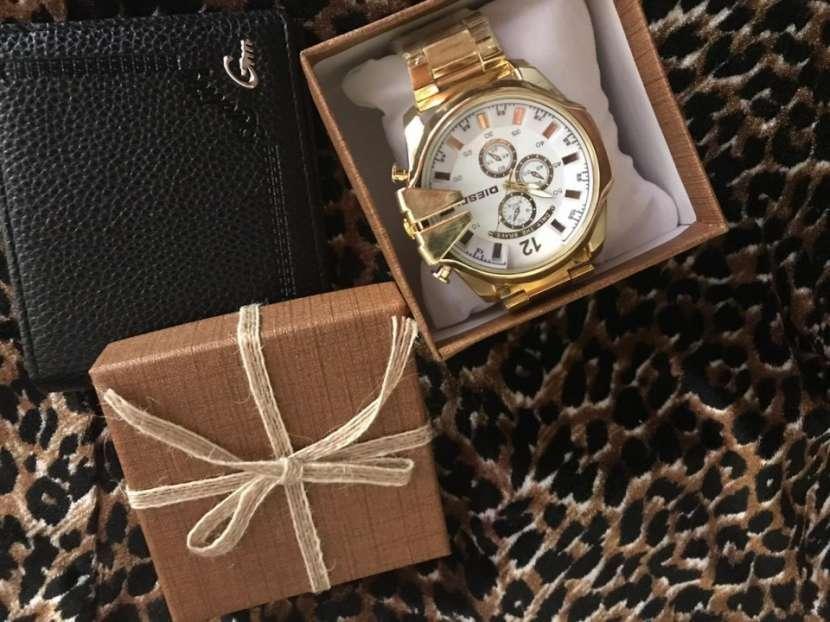 Reloj diésel y billetera - 3