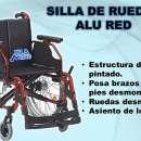 Silla de ruedas alu red - 0