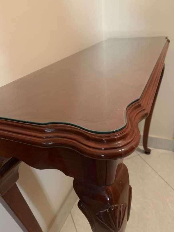 Mesa de cedro de estilo francés - 2