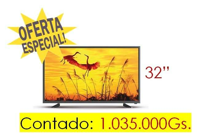 TV LED Midas de 32 pulgadas - 0