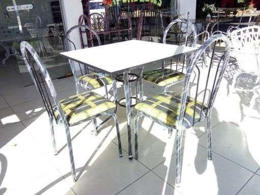 Juego de comedor económico 4 sillas - 1