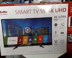 TV LED Smart Kolke ultra HD 4k de 55 pulgadas