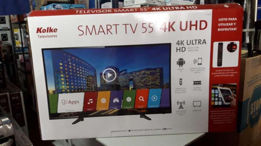 TV LED Smart Kolke ultra HD 4k de 55 pulgadas - 0