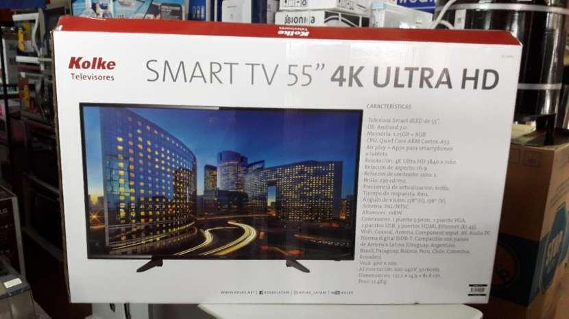 TV LED Smart Kolke ultra HD 4k de 55 pulgadas - 1