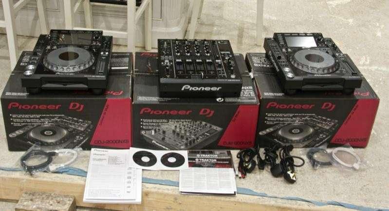 2 Pioneer CDJ2000 y 1 DJM2000 - 0