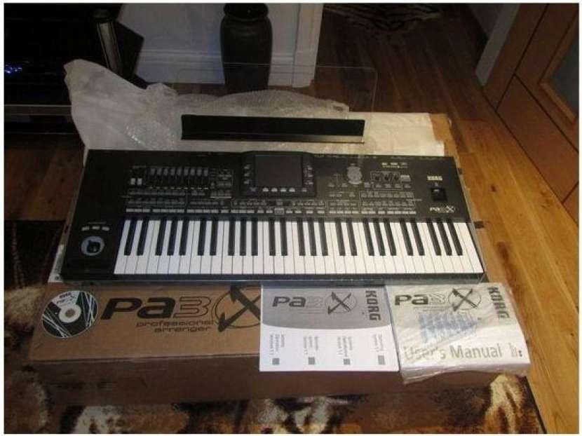 Teclado Korg Pa3X 76-Key Pro Keyboard Arranger - 0