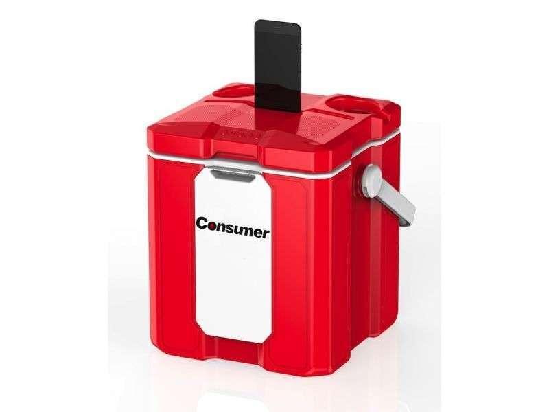 Conservadora con parlante bluetooth- Cooler box smart - 0