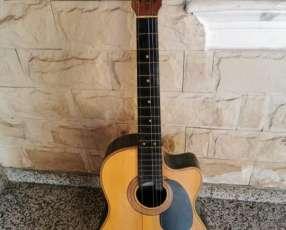 Guitarra criolla con estuche