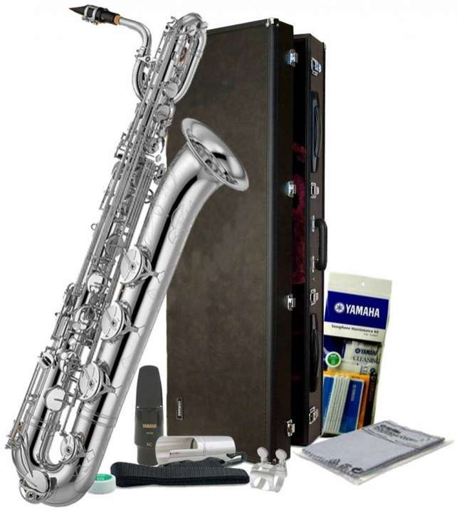 Saxofón Yamaha YBS-52 Intermediate Baritone Saxophone - 1