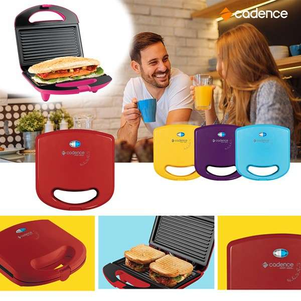 Sandwicheras Minigrill Colors de Cadence - 0