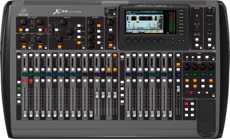 Consola Behringer X32 32-Channel 16-bus Total Recall Digital Mixing - 2