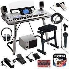 Teclado Yamaha Tyros 4 61-Key Pro Arranger Workstation - 0