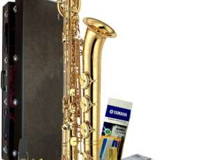 Saxofón Yamaha YBS-52 Intermediate Baritone Saxophone