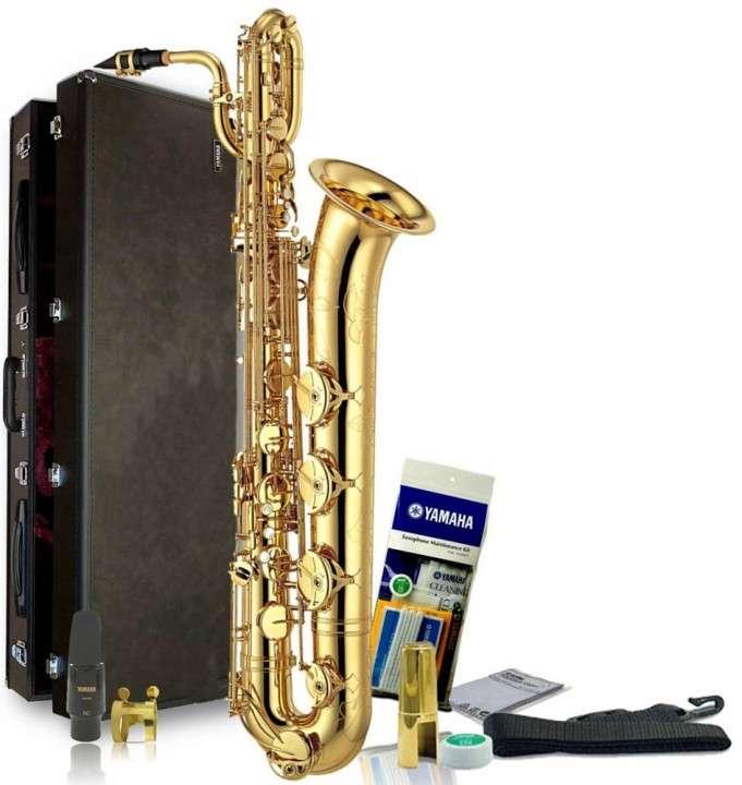 Saxofón Yamaha YBS-52 Intermediate Baritone Saxophone - 0