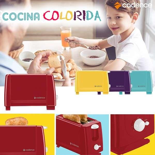 Tostadora Cadence Colors - diseño Colorido y Potente - 0