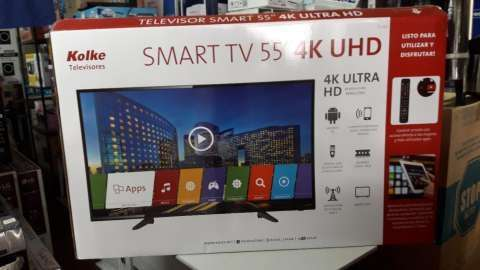 TV LED Smart Kolke ultra HD 4k de 55 pulgadas - 0