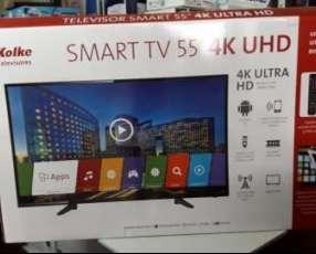 TV LED Smart Kolke ultra HD 4k de 55 pulgadas