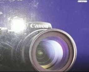 Cámara semi profesional Canon sx420 hs