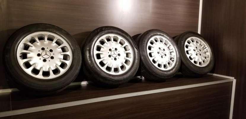 Llantas aro 16 originales de Mercedes w211 - 0