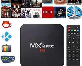 TV Box MQX 4K-1500 canales-Peliculas y series en HD Gratis