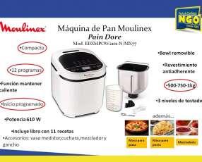 Maquina de pan Moulinex