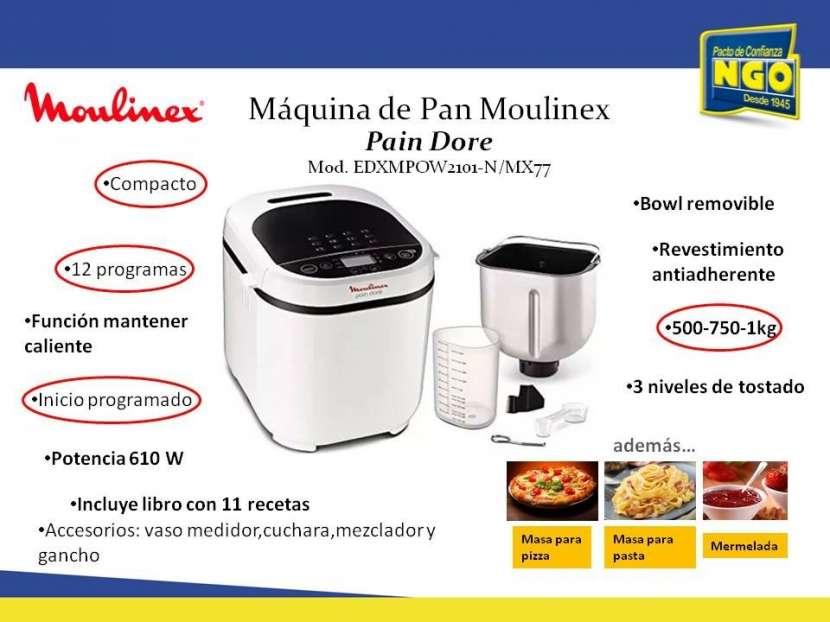 Maquina de pan Moulinex - 0