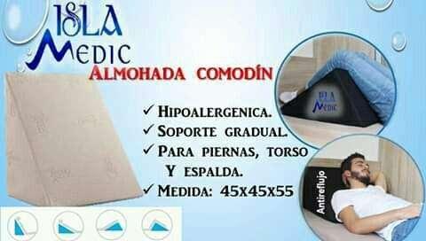 Almohada antireflujo o comodín - 0