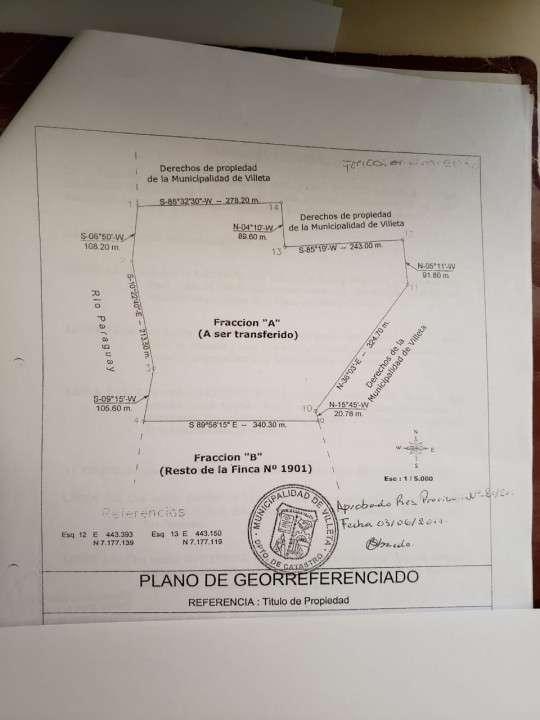 61 hectáreas en Villeta - 0