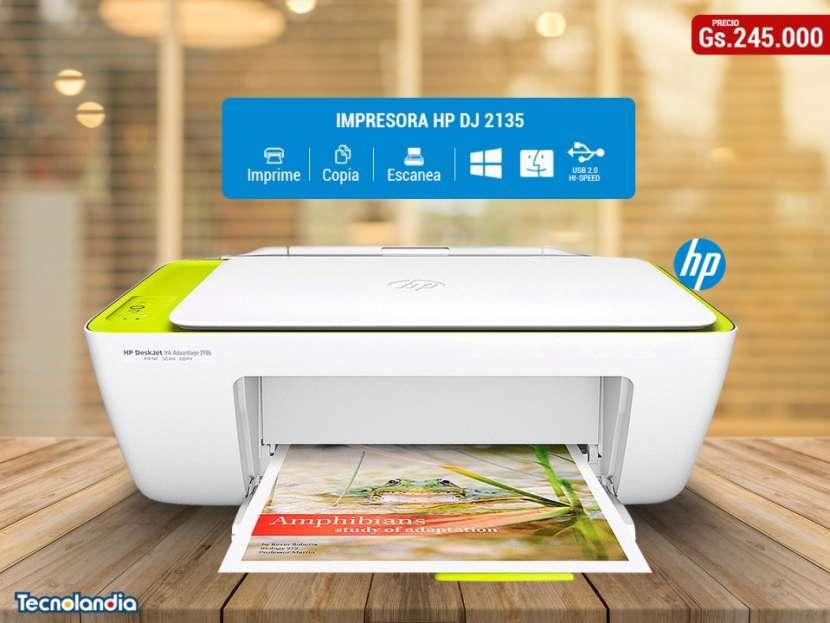 Impresora HP DeskJet Ink Advantage 2135 - 0