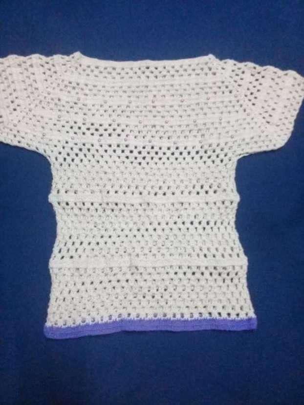 Blusa de crochet - 0