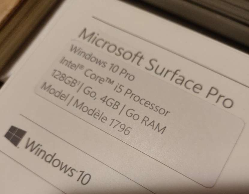 Laptop Microsoft Surface Pro - 6