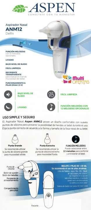 Aspirador nasal Aspen ANM12 - 1