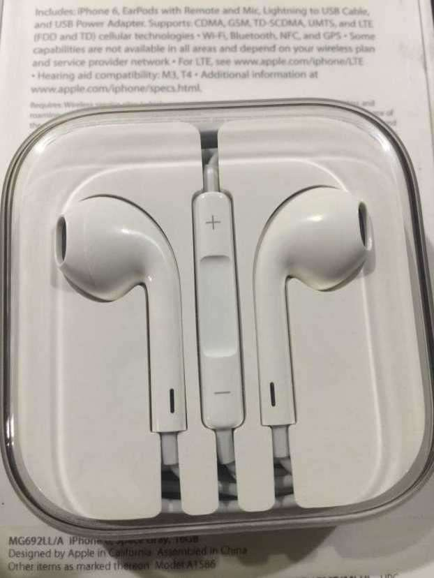 Apple earphone - 0