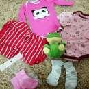 Combo de ropas para bebé