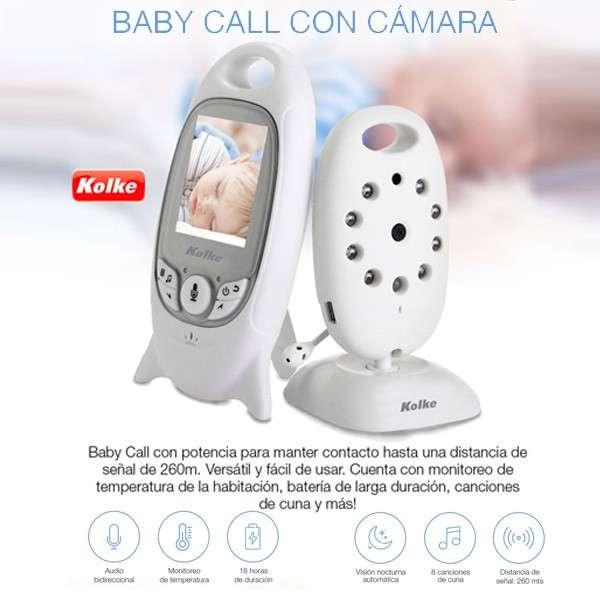 Baby Call con cámara de Kolke - 0