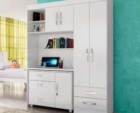 Ropero escritorio y cómoda