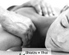 Masaje relax para damas shiatsu + tailandés