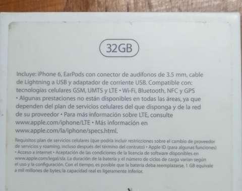 Iphone 6 de 32 gb - 5