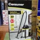 Aspiradora Consumer 30 litros inoxidable - 0
