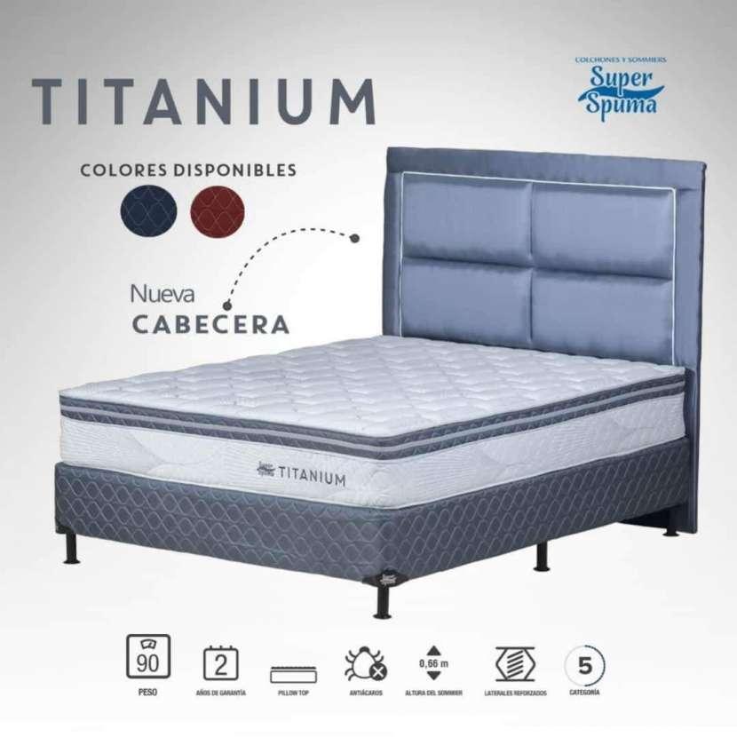 Sommier Titanium en cuotas