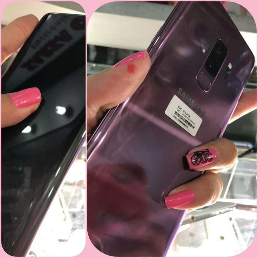 Samsung Galaxy S9 Plus purpura - 1