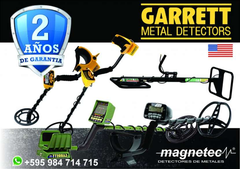 Detector de Tesosro Metales Garrett GTI 2500 Ojo de Aguila - 3