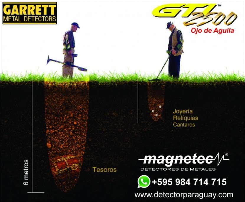 Detector de Tesosro Metales Garrett GTI 2500 Ojo de Aguila - 2