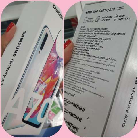 Samsung Galaxy A70 nuevo - 1