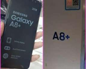 Samsung Galaxy A8 plus nuevo más protectores antishok de regalo