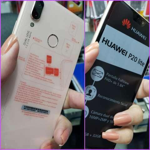 Huawei P20 Lite nuevo + protectores antishok de regalo - 0