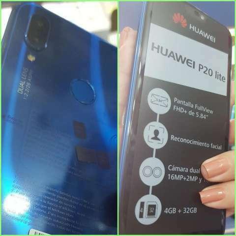 Huawei P20 Lite nuevo + protectores antishok de regalo - 1