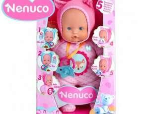 Muñeca Nenuco Blandito 5 Funciones con Pijama Rosa de 30 cm