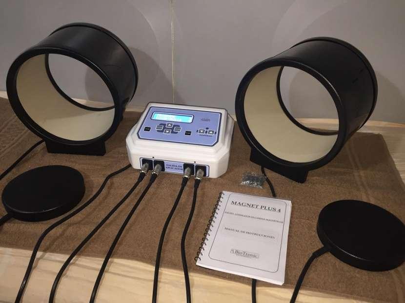 Magneto Terapia Digital con 2 placas y 2 túneles - 1