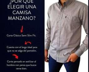 Camisas y pantalones manzano
